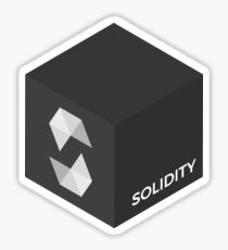Pegatina Programación Skill Cube - Solidez - Ethereum