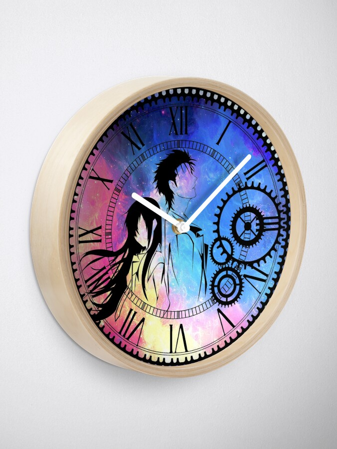 Alternate view of Steins;Gate Loving mix colors Clock