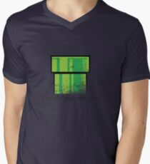 This is not a pipe. Men's V-Neck T-Shirt