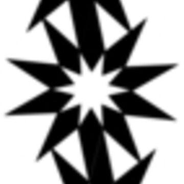 Dobule Star Pattern by cartoonblog