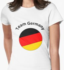 Team Germany Women's Fitted T-Shirt