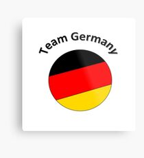 Team Germany Metal Print