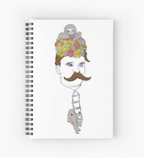 Nietzsche Spiral Notebook