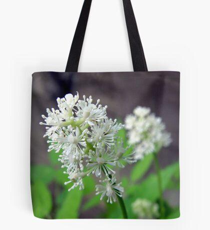 White Baneberry Blossom Tote Bag