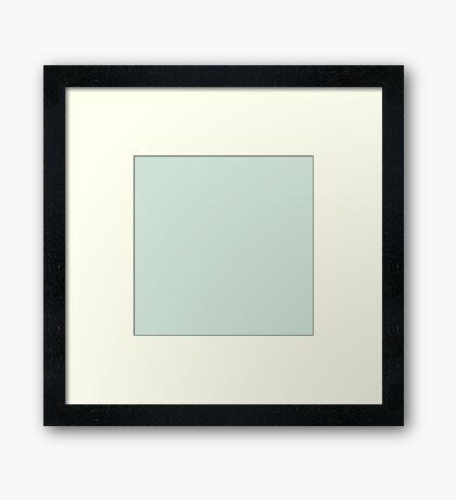 Just Mint Framed Print