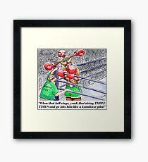 Boxing Fans Framed Print