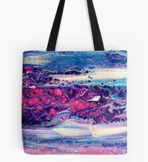 Peinture originale rose & violet Tote bag