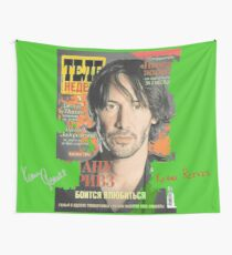 Keanu Reeves - Cover Tele Magazine Russia (by ACCI) Wall Tapestry