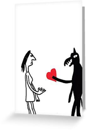 Valentine's Dog by stevexoh
