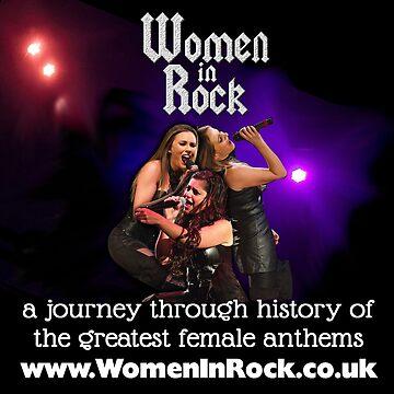 Women In Rock Colour Logo by womeninrock