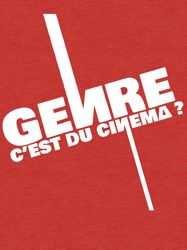 Genre is cinema - White by INTHEPANDA
