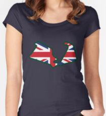 Silverstone Circuit - Silverstone, Britain Fitted Scoop T-Shirt