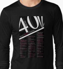 """Top 40 Best """"Men"""" Jokes Long Sleeve T-Shirt"""