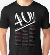 "Top 40 Best ""Men"" Jokes Unisex T-Shirt"