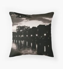 Leiden At Dusk VI Throw Pillow