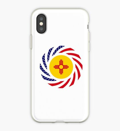 New Mexican Murican Patriot Flag Series iPhone Case