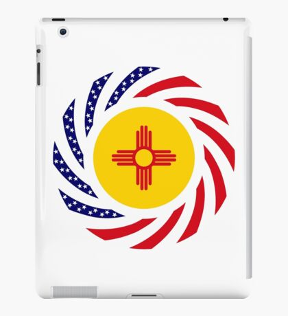 New Mexican Murican Patriot Flag Series iPad Case/Skin