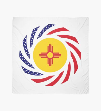 New Mexican Murican Patriot Flag Series Scarf