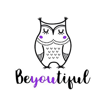 Aesthetic Inspirational Owl by warddt