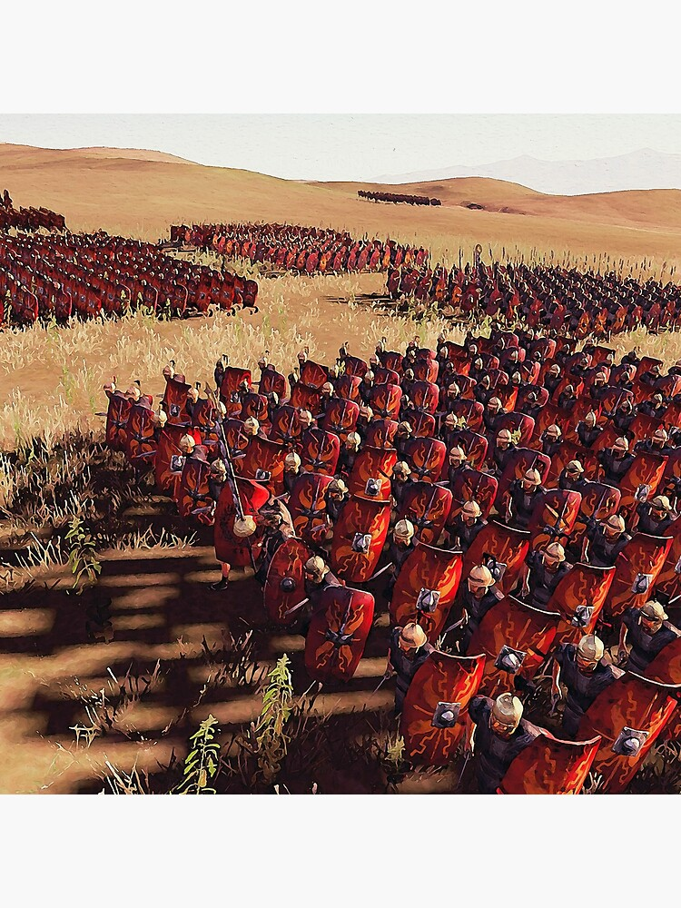 Römische Legion im Kampf von ErianAndre