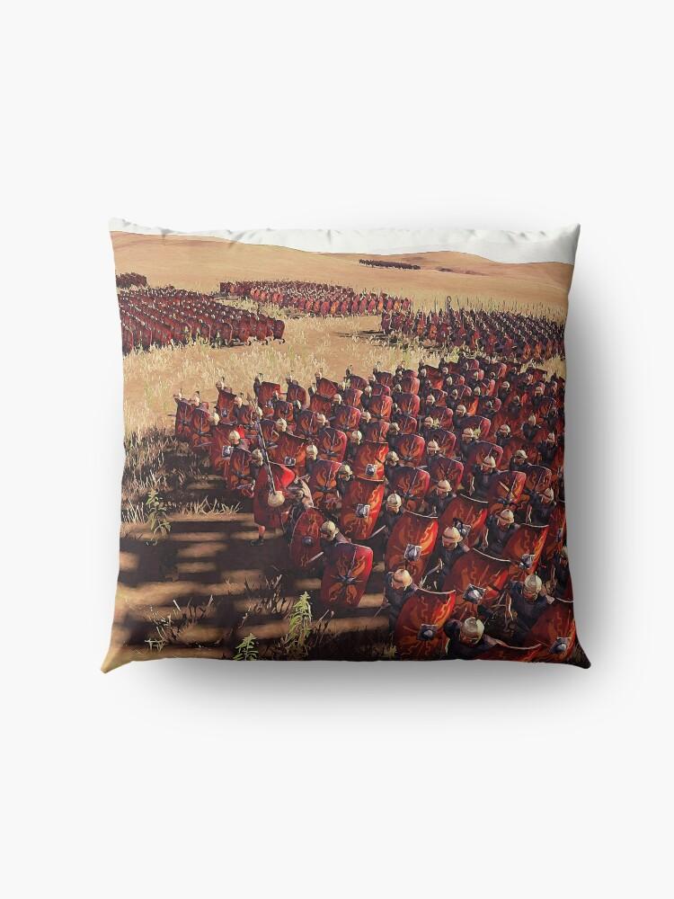 Alternative Ansicht von Römische Legion im Kampf Bodenkissen