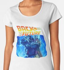 Back To The Future Women's Premium T-Shirt
