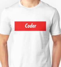 Coder Developer - Programming Stickers and other items! Unisex T-Shirt