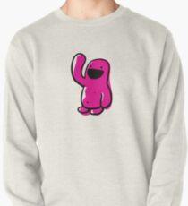 sketchy Pink Happyman Pullover