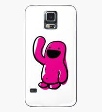 sketchy Pink Happyman Case/Skin for Samsung Galaxy