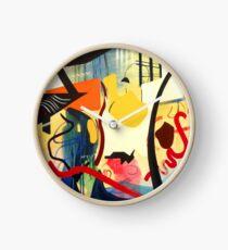 Abstract Interior #3 Clock