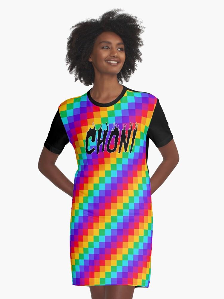 'choni' Vestido Camiseta 'choni' De Emilykatemilner Camiseta Vestido cJ1lTFK