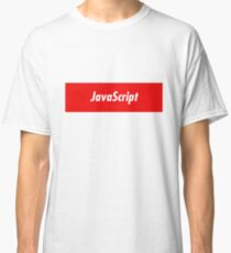 JavaScript Developer - Programming Stickers and other items! Classic T-Shirt