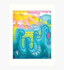 Goldfish Boldly Goes Art Print