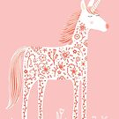 Unicorn with Flowers by Nic Squirrell