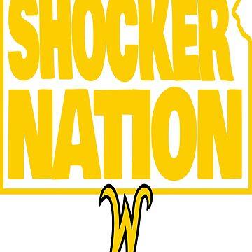 Wichita State University Shocker Nation by waycooltees