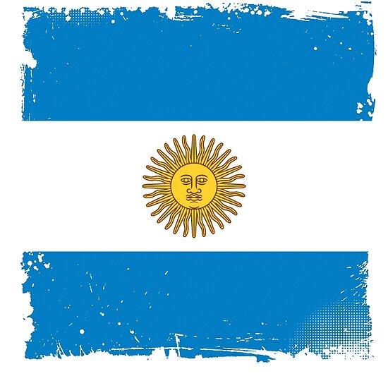 Argentina Artgentinian Triband National Flag Symbol Of Pride