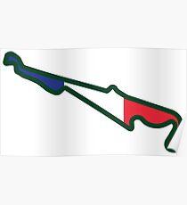 Circuit Paul Ricard - Le Castellet, Frankreich Poster