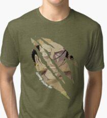 Crocodile quote Tri-blend T-Shirt