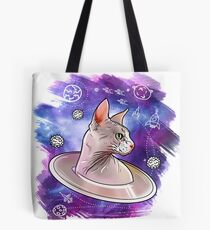 sphynx space cat 2 Tote Bag