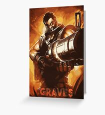 Graves Greeting Card