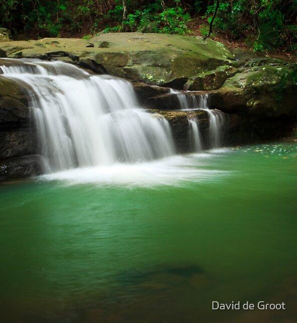 Emerald Pool by David de Groot