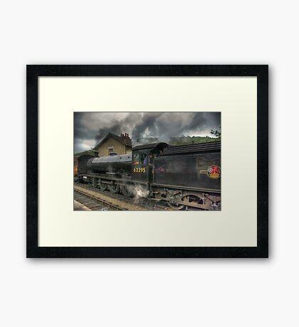 No: 63395 Steam Train Framed Print