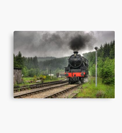 No.45407 'The Lancashire Fusilier' Canvas Print