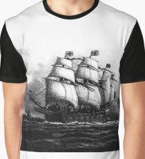 English warship Graphic T-Shirt