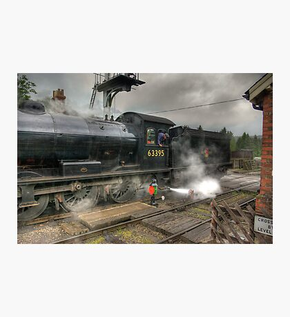 No.63395 On The Road Crossing Photographic Print
