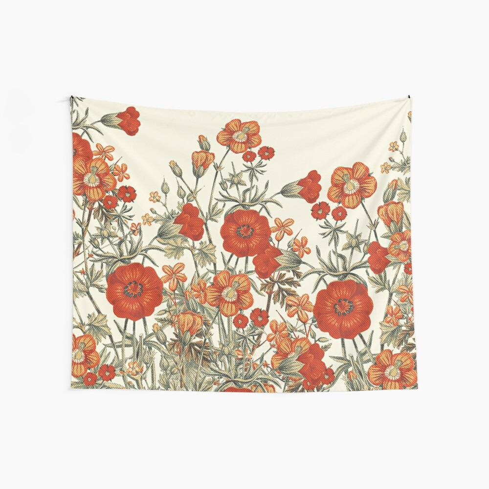 Vintage Garden 7 Wall Tapestry