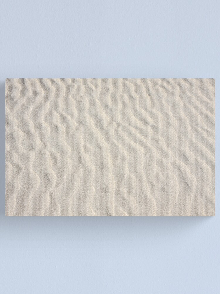 Alternate view of Ripples in the sand Canvas Print