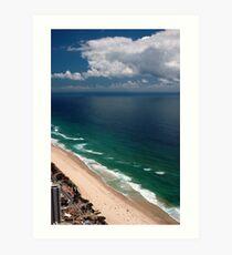 Q1 View © Surfers Paradise Art Print