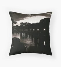 Leiden At Dusk X Throw Pillow