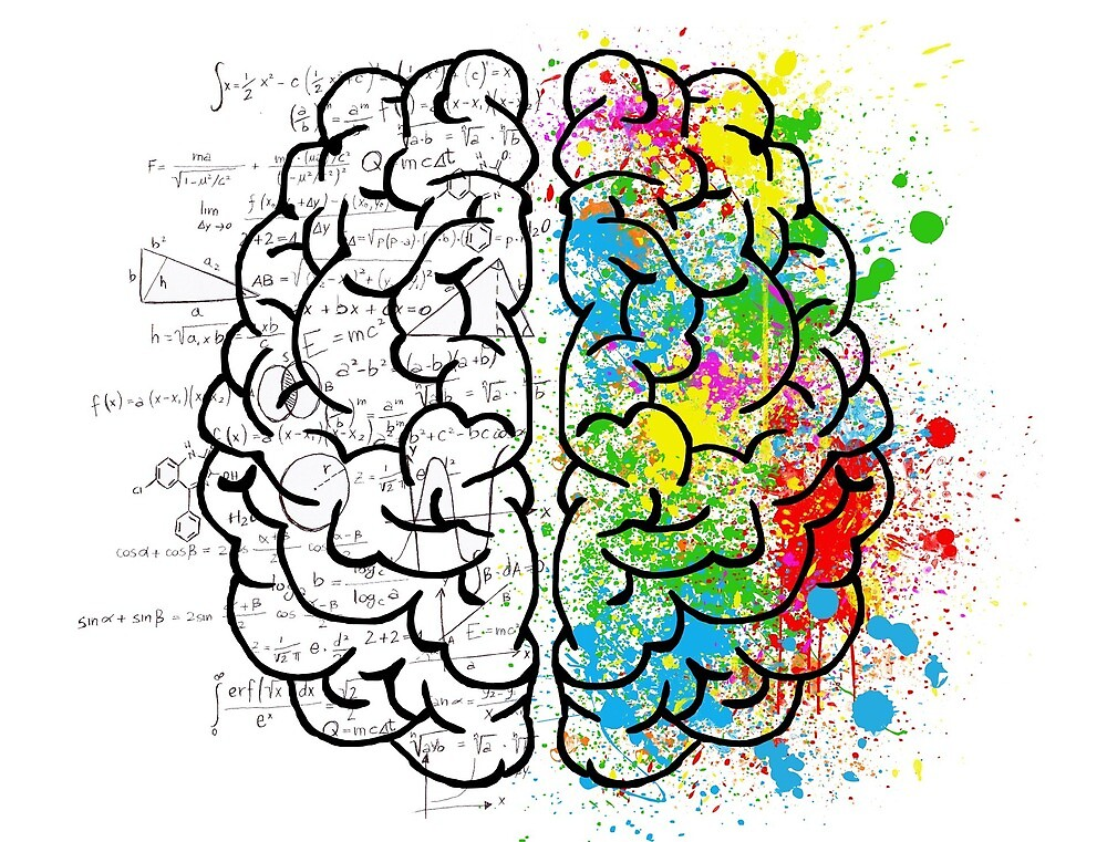 "brain, geek, nerd, smart, science, fun, colourful"" by Brendy89 ..."